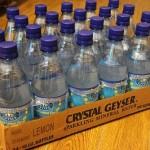 夏の必需品、クリスタルガイザー炭酸水はネットで買うとお得