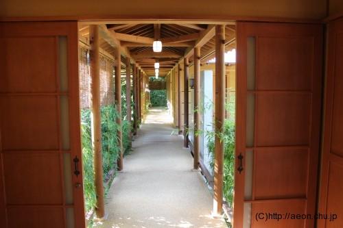 別亭やえ野:廊下