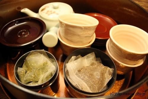 別亭やえ野:お茶