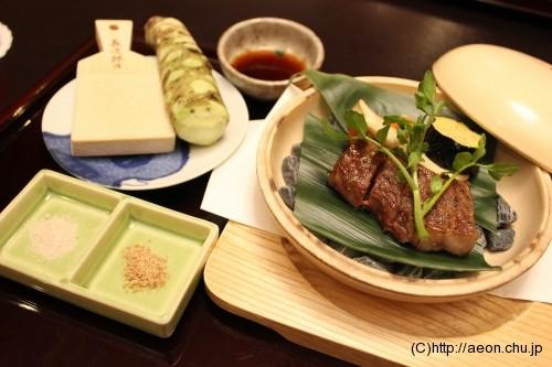 別亭やえ野:増田牛ステーキ2