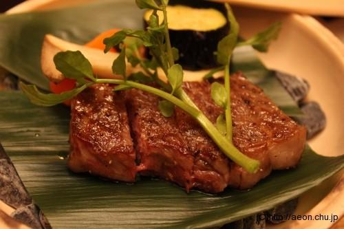 別亭やえ野:増田牛ステーキ