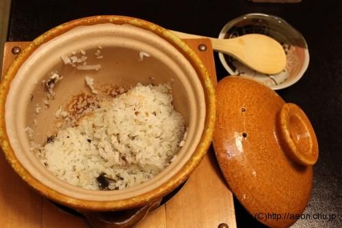 別亭やえ野:鮎大根ご飯