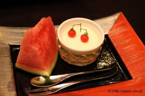 別亭やえ野:デザート