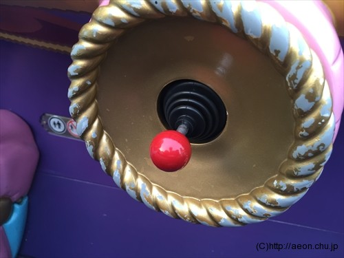ジャスミンのフライングカーペットのボタン(拡大)