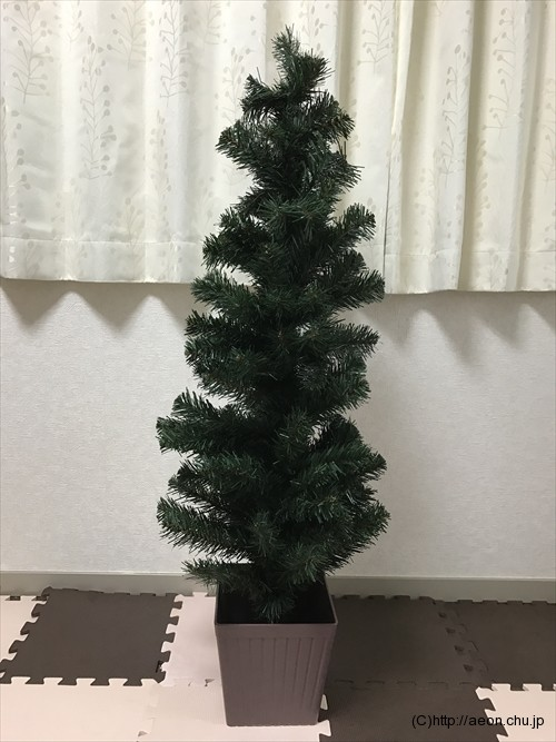 イオンのクリスマスツリー