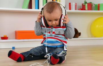 子ども用ヘッドフォン