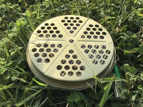 ダイソーの蚊取り線香ケース
