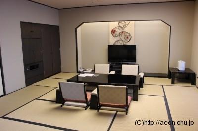 和室スイート・純和室の室内