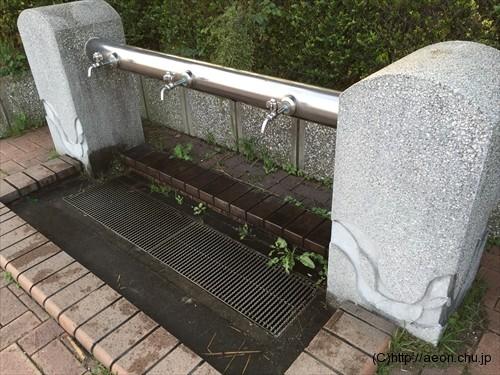 城南島海浜公園の水道