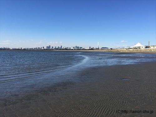 葛西臨海公園砂浜