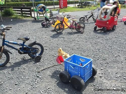 加藤牧場の子供の遊び場