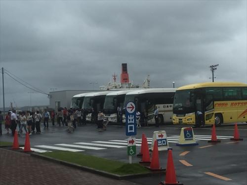 めんたいパーク:観光バス