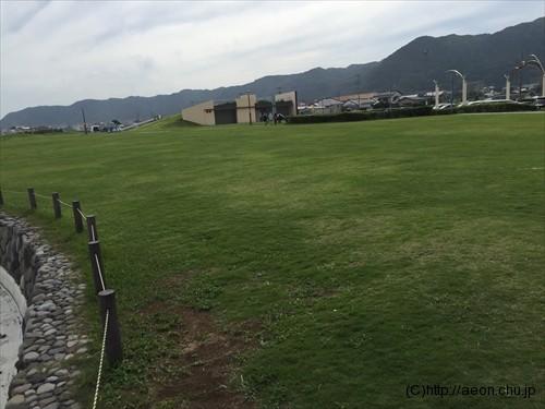 道の駅ちくら潮風王国の芝生