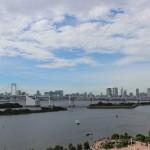 お台場の日航東京で東京タワーとスカイツリーが同時に見えるお部屋