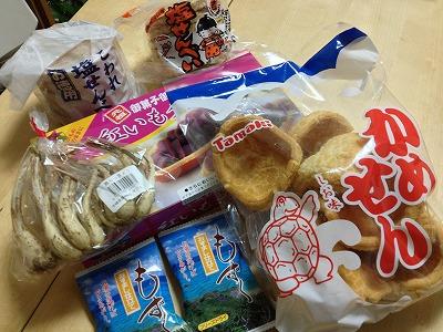 沖縄食材・グッズの専門店わしたショップ@レイクタウンで沖縄お菓子をまとめ買い