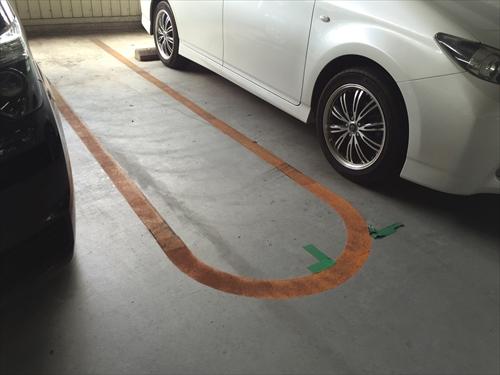 イオンレイクタウン ゆとりの駐車場