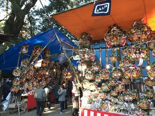 氷川神社十日市(とおかまち):熊手