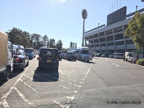 氷川神社十日市(とおかまち):駐車場