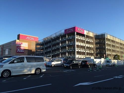 イオンモール浦和美園の立体駐車場