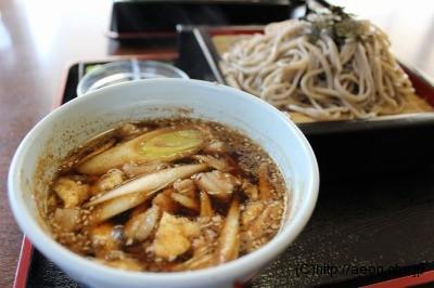 ローズポーク肉汁そば(大盛)